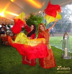 Veil Dancers and other Arabian style entertainment booked through www.ZoharProductions.com  Contact: info@zoharproductions.com