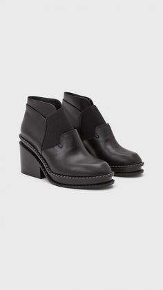 Robert Clergerie Wanguy Boots in Black | The Dreslyn
