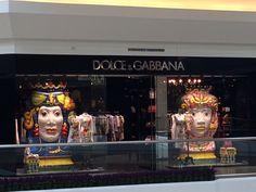 Love Dolce & Gabbana's window display.