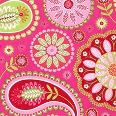 Pink Paisley-needs some black, too