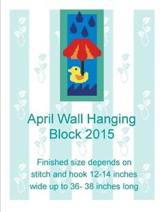 (4) Name: 'Crocheting : April 2015 Wall hanging
