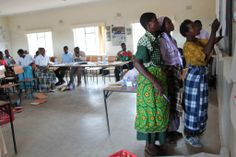 Week of May 12th, 2014: Camfed community partners at a training workshop in the Neno district of Malawi.