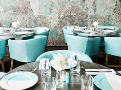 Tiffany & Co. will open the Blue Box Cafe on Friday.