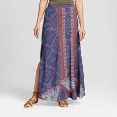 Women's Printed Side Slit Maxi Skirt - Knox Rose™