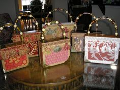 Join us for another workshop on Wednesday, December 5 at p. and make a cigar box purse for the holidays! Cigar boxes will be provided. Limit of so please call to register. Empty Cigar Boxes, Cigar Box Art, Cigar Box Purse, Altered Cigar Boxes, Cigar Box Guitar, Cigar Box Projects, Cigar Box Crafts, Reuse Containers, Painted Wooden Boxes