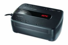 APC Back-UPS 550VA UPS Battery Backup & Surge Protector (BE550G)