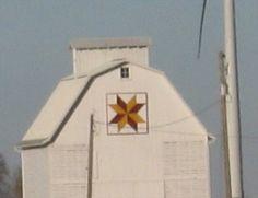 Windmill Barn Quilt– Rural Fonda, IA