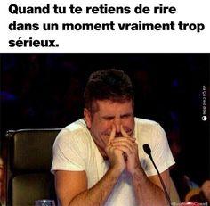 Quand tu te retiens de rire dans un moment vraiment trop sérieux !!! #bretagne #sud #nord #paris #marseille #blague #drôle #drole #humour #mdr #lol #vdm #rire #rigolo #rigolade #rigole #rigoler #blagues #humours A Funny, Hilarious, Funny Conversations, Old Memes, Funny Moments, True Stories, Sarcasm, Haha, Jokes