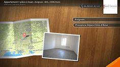 Appartement 1 pièce à louer, Avignon  (84), 350€/mois