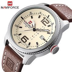 2017 Luxury Brand NAVIFORCE Men Military Sports Watches Mens Quartz Date Clock Man Casual Leather Wrist Watch Relogio Masculino (32760814116)  SEE MORE  #SuperDeals