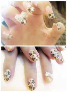 #cheetah#print#nails