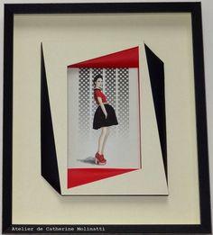 Frame It, Frame Shop, Paper Art, Paper Crafts, Iris Folding, Card Patterns, Felt Art, Framed Artwork, Picture Frames