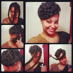 29 senegalese twist hairstyles for black women updo senegalese i will be doing this with my senegalese twist pmusecretfo Image collections