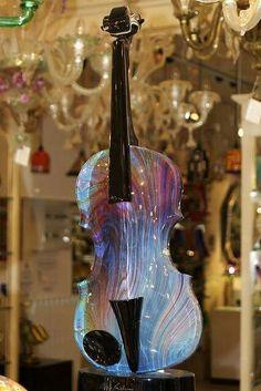 Violín de cristal