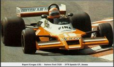 1978 GP Hiszpanii (Rupert Keegan) Surtees TS20 - Ford