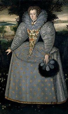 Elizabeth Buxton,1588-90 (Stranger's Hall, Norwich)
