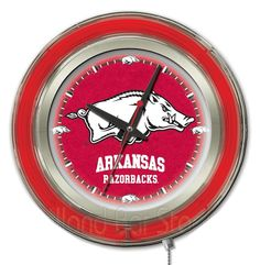 Use this Exclusive coupon code: PINFIVE to receive an additional 5% off the University of Arkansas Neon Logo Clock at SportsFansPlus.com