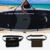 Own the Wave SUP Carry Strap - Easy to Carry Adjustable Triple Padded Shoulder Strap - SUP Paddleboard Carry Strap with Phone Bag and Waist Bag Sup Paddle Board, Surf Accessories, Paddle Boarding, Carry On, Shoulder Strap, Surfing, Waves, Phone, Bag