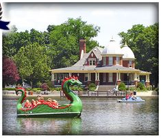 Paddle boats on the lagoon in the park. Every kid in Pekin has a lifetime of memories in this park, it's a special place. Pekin Illinois, Central Illinois, Paddle Boat, Green Valley, Summer Bucket Lists, Great Pictures, Summer Fun, Kayaking, Places To Go