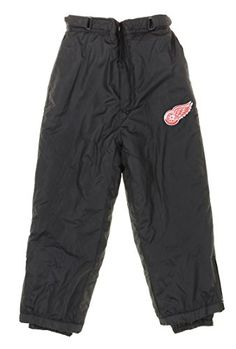 NHL Youth, Boys (8-20) Insulated Snow Pants  https://allstarsportsfan.com/product/nhl-youth-boys-8-20-insulated-snow-pants/  100% polyester Embroidered logo on the front Two front pockets