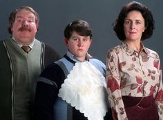On Dudley's birthday, Rowling reveals the story behind Vernon and Petunia's names, and a disastrous first meeting with the Potters Ridiculous Harry Potter, Quiz Harry Potter, Harry Potter Fan Theories, First Harry Potter, Harry Potter World, Harry Potter Characters, Harry Potter Head Canon, Neville Longbottom, Petunias
