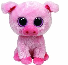 Lol, this morning me and my mom  we're talking about how we never seen a pig beanie boo. Till now.