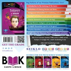 Get the grade with Learning and Teaching Support Materials for grades 8 to 12 Afrikaans and English literature, language, and media studies. Exam Guide, Film Studies, Background Information, Bulk Order, English Literature, 2 In, Schools, Benefit, Insight