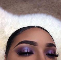#makeup #eyeshadow #purpleeyes