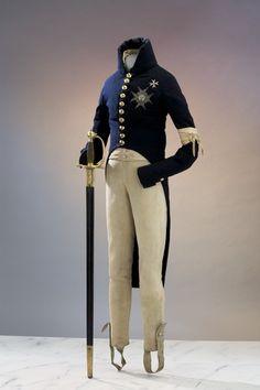 Gustav IV Adolfs uniform och värja - Livrustkammaren