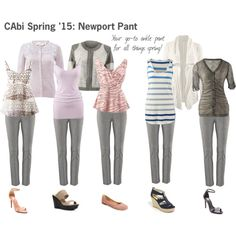 CAbi Spring '15: Newport Pant - it goes with everything! www.jeanettemurphey.cabionline.com