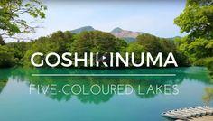 Five-coloured Lakes of Fukushima - Goshiki-numa 五色沼 - http://www.japanesesearch.com/five-coloured-lakes-of-fukushima-goshiki-numa-%e4%ba%94%e8%89%b2%e6%b2%bc/ Goshiki-numa, lake, 五色沼