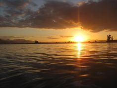 Hello Petal: Monaco Nelson New Zealand Sunset