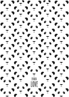 Eef Lillemor 'Kaart Panda's'...good to blow up for a background assorted emoji photo booth