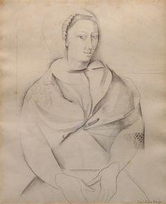 Retrato de mujer : Lino Enea Spilimbergo