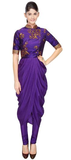 423422: ASIAN STYLE: this #Salwarkameez gets full points in presenting Asian fashion in style..  #WeddingCouture #Bridetobe #purple #androgyny #sale #onlineshopping #monotone #gemstonecolor #partywear #womenfashion