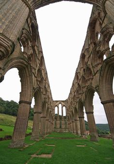 Rievaulx Abbey became one of the wealthiest abbeys in England until Henry VIII's Dissolution of the Monasteries. In 1538 Henry ordered the buildings to be rendered uninhabitable and stripped of valuables such as lead.