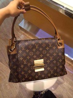 Louis Vuitton Monogram Canvas Olympe Bags M40925 Havane