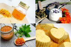 Nagietkowe LOVE czyli jakie preparaty można wykonać z nagietka Cornbread, Beauty Hacks, Herbs, Homemade, Health, Ethnic Recipes, Food, Millet Bread, Beauty Tricks