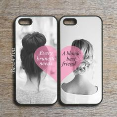 iPhone 5S case,every brunette need a blonde best friends,iPhone 5C case,iPhone 5 case,ipod 5 case,ipod 4 case,iphone 4s case,freely mix two and other apparel, a...