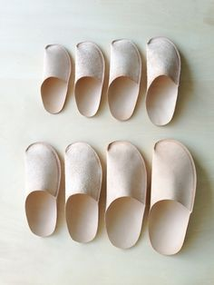 One piece slippers - my next leather project?
