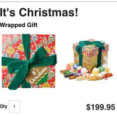 It's Christmas! $199.95 http://www.lushusa.com/Christmas/christmas,en_US,sc.html