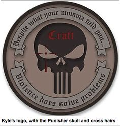 The Cheaper Than Dirt Chronicle recently had a chance to ask 'American Sniper' Chris Kyle about Craft International and his experiences with training civilians. The Punisher, Punisher Skull, Morale Patch, Thing 1, Doomsday Prepping, Military Life, Navy Seals, Guns And Ammo, Special Forces
