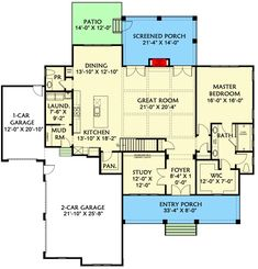 Stunning 4-Bed New American House Plan with Loft and Unfinished Attic Space - 500066VV | Architectural Designs - House Plans