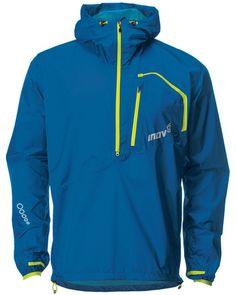 Men's Running magazine revved the Inov-8 Men's Race Elite 150 Stormshell recently and said ' lightweight and very comfortable. Folds away in a very compact pouch'