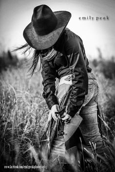 Cowgirl shot. Love the pic