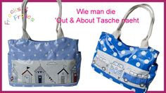 Wie man eine Handtasche näht - Schritt für Schritt Anleitung (Out & Abou...