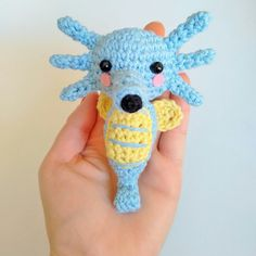 New arrived! Horsea pokemon amigurumi