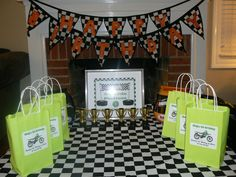 Dirtbike party - awards/party favors