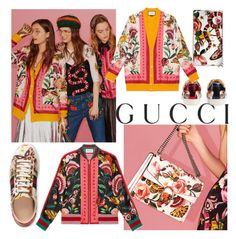"""Presenting the Gucci Garden Exclusive Collection: Contest Entry"" by monykhaled ❤ liked on Polyvore featuring Gucci and gucci"