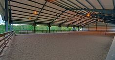 Somewhat like how I want my indoor to be, except for sliding door panels, to have the option of a more sheltered riding place in the winter.